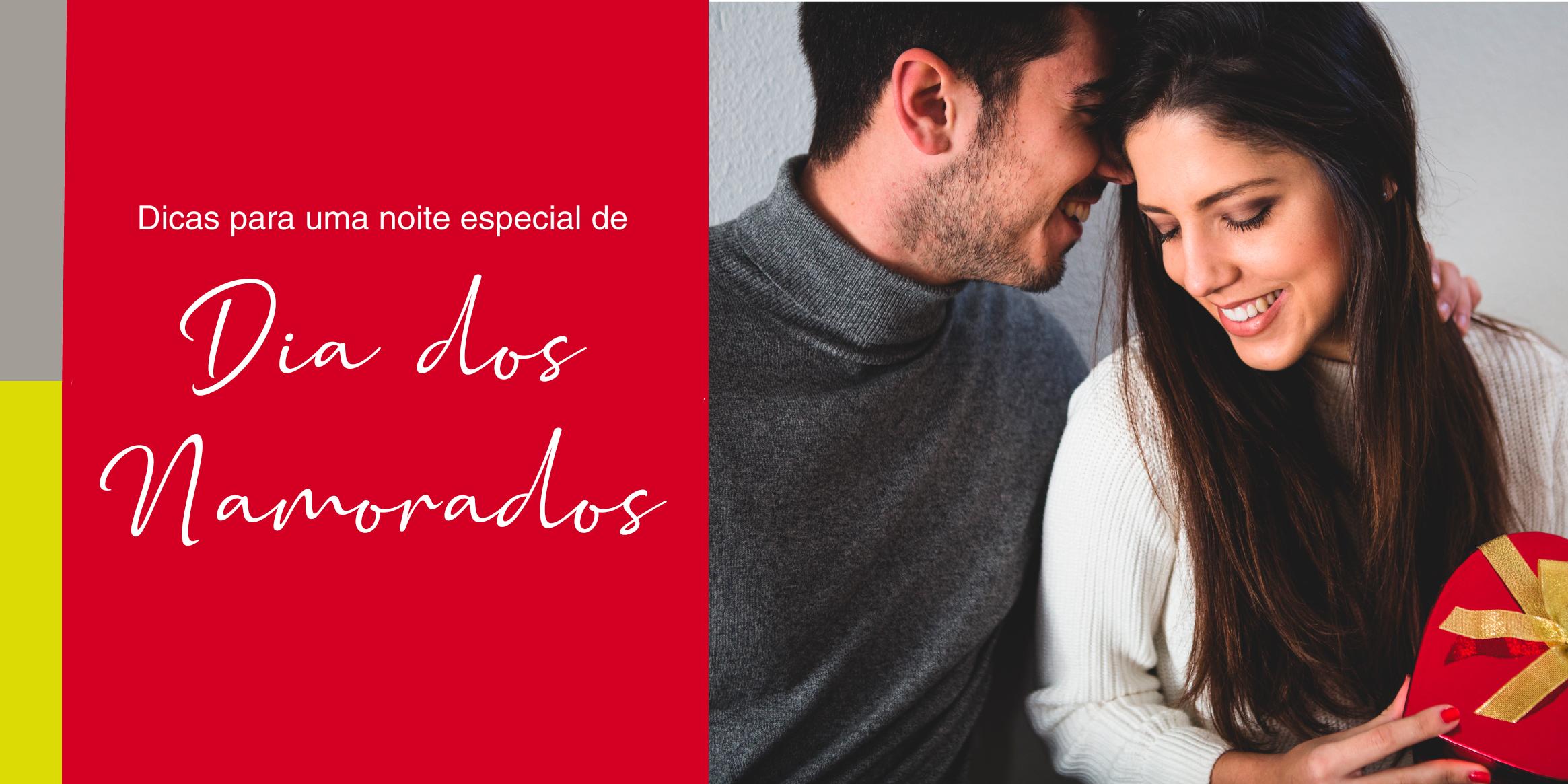 Noite romântica: dicas para uma noite especial de dia dos namorados